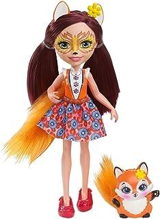 Mattel España, S.A. Muñeca Enchantimals Felicity Fox y