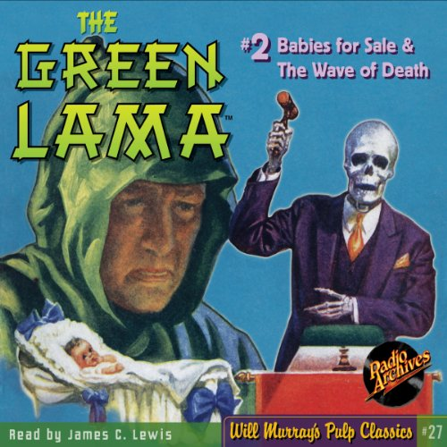 The Green Lama #2 audiobook cover art