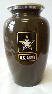 406 Military Army Adult Cremation Urn