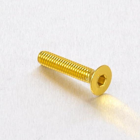 0.7mm Vis aluminium /Ã/ t/Ã/ªte frais/Ã/©e M4 x x 20mm Orange