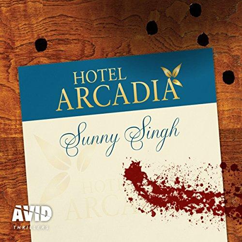 Hotel Arcadia audiobook cover art