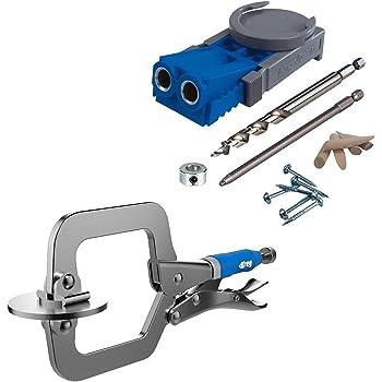 Milescraft 1323 PocketJig200 Complete Pocket Hole Jig Kit