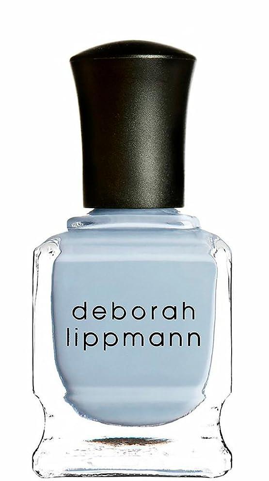 惑星法的トランク[deborah lippmann] [ デボラリップマン] ブルーオーキッド BLUE ORCHID 【パステルブルー】 15mL