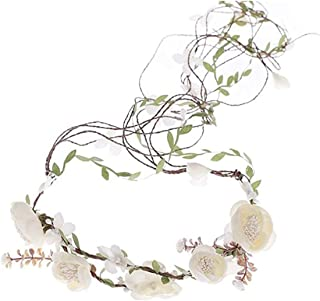 Newly arrived Rattan Flower Vine Crown Tiaras Necklace Belt Party Decoration