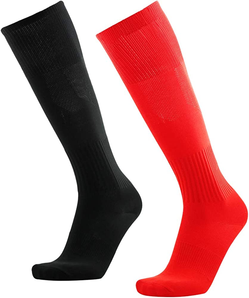 Three street Unisex Knee High Solid Max 47% OFF Socce Max 55% OFF Sport Tube Compression