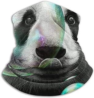 2 filtros para hombres y mujeres bufanda de tela polainas para el cuello HOLIMION Love You to The Moon color negro reutilizable Bufanda facial de moda lavable para ni/ños