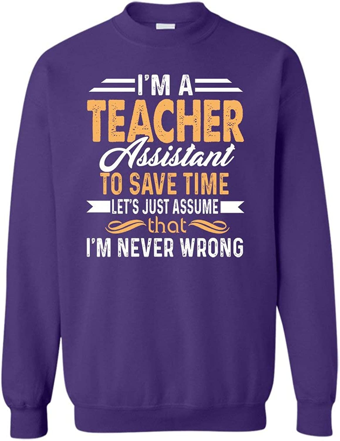 Mazoli I'm A Teacher Assistant Men Shirts, Women Sweatshirt