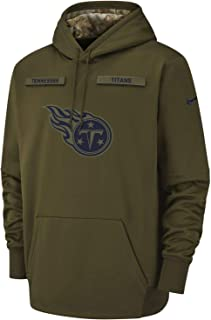 Tennessee Titans 2018 NFL Salute to Service Men's STS Hoody