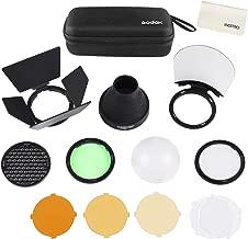 Godox AK-R1 Accessories Kit for Godox H200R Ring Flash Head Godox AD200 / AD200Pro / Godox V1 Round Head Flash Accessories with Magnetic Port Easy to Use
