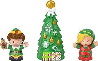 Fisher-Price Little People - Figura decorativa, diseño de elfo