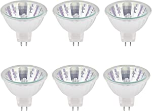 Halogeenlampen, MR16, dimbaar, 20 W, GU5.3, 12 V, warm wit 2700 K, 210 lm, pak van 6, 4000 stuks, B4U