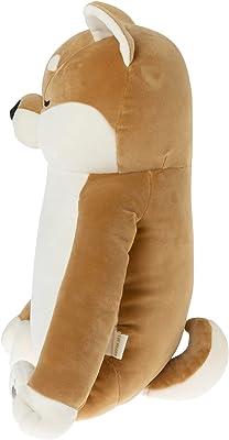 りぶはあと 背筋ピーン抱きまくら プレミアムねむねむアニマルズ 柴犬のコタロウ (全長約40cm) 姿勢サポート 猫背改善 78756-44