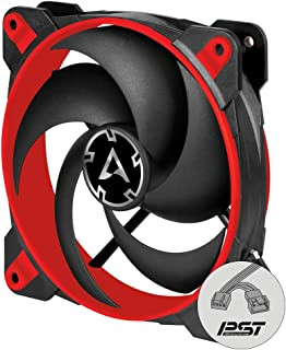 Arctic BioniX P120 (Red) - Pressure-optimised 120 mm Gaming Fan with PWM Sharing Technology (PST)