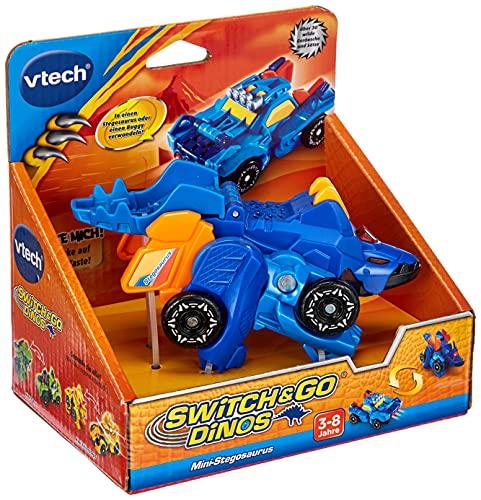 Vtech 80-192204 Switch & Go Dinos - Mini-Stegosaurus Spielzeugdino