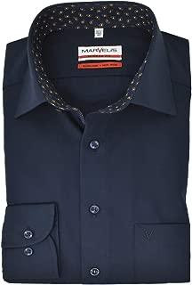 Marvelis Modern Fit Kurzarm Hemd schwarz Kragenweite:46