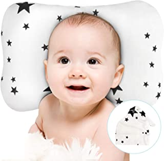 Newborn Baby Head Shaping Pillow -Baby hat Included