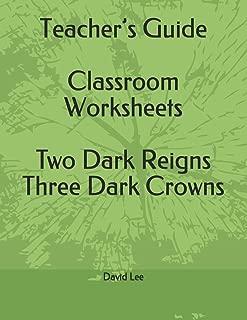 Teacher's Guide Classroom Worksheets Two Dark Reigns Three Dark Crowns