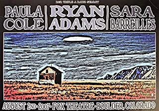 ryan adams concert poster