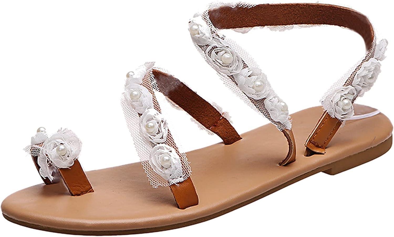 USYFAKGH Womens Hiking Shoes Women Summer Flowers Print Slip-On