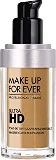 Make up for Ever Ultra Hd Invisible Cover Foundation Color 128 = Y415 - Almond