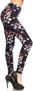 Women's Ultra Soft Printed Fashion Leggings BAT5