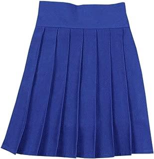 royal blue school skirt