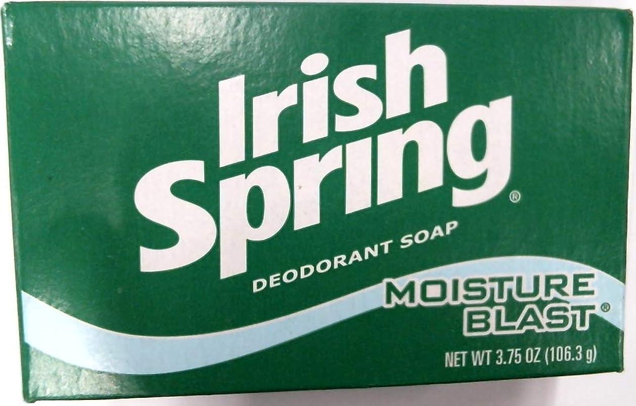 流行しているけがをする揺れるIrish Spring デオドラントバスソープモイスチャーブラスト、3.75オズ各3バーパック(18バリューパック)54本のバーの合計