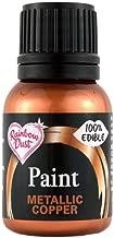 copper edible paint