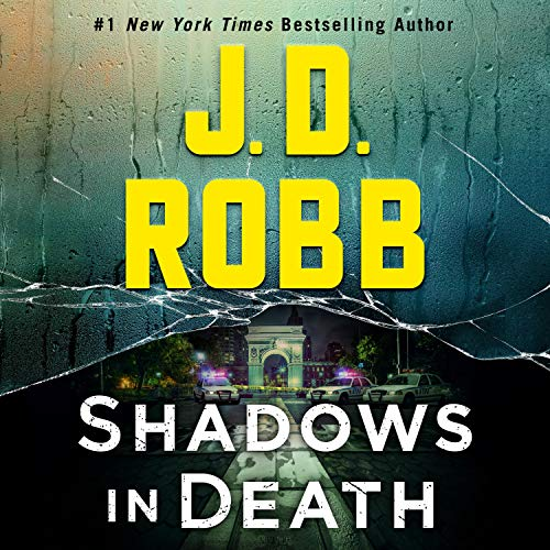 Shadows in Death audiobook cover art