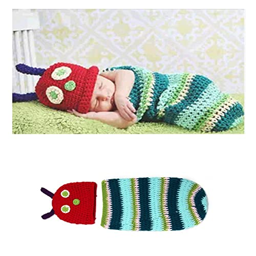 25d008deed2 Meelino Newborn Photography Props Outfit Crochet Knitted Infant Baby  accessories