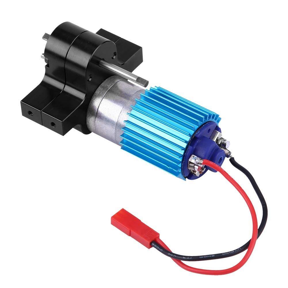 Dilwe Caja de Cambios RC, Cambio de Velocidad de la Caja de Engranajes de Metal con 370 Brush Motor para WPL 1633 RC Car(Negro): Amazon.es: Juguetes y juegos