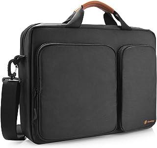 """tomtoc 15.6"""" Custodia per Laptop, Borsa per Portatile HP Lenovo ASUS Samsung 13-15 Pollici, Borsa da Viaggio Nero"""