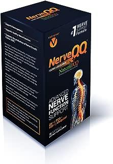 NerveQQ Ultra Advanced Neuropathy Nerve Support Formula. 100mg of Ubiquinol (QH) plus Natural PQQ 20mg (Vegetarian Softgels)