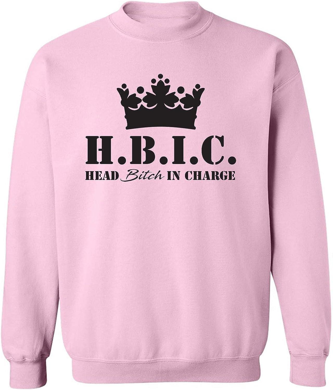 H.B.I.C. Head Bitch In Charge Crewneck Sweatshirt