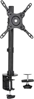 VIVO Black Ultra Wide Screen TV and Monitor Desk Mount, Adjustable Height and Tilt Stand for Screens up to 42 inches, STAN...