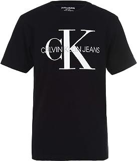 Boys' Classic Ck Logo Crew Neck Tee