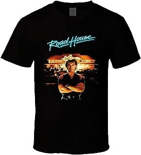 Whitesmith Custom Roadhouse Patrick Swayze Men's Funny T-Shirt 100% Cotton Tee