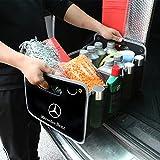 メルセデスベンツ 車用収納ボックス 車トランク 収納ボックス オックス 折りたたみ 収納ケースMercedes-Benz 専用 高い質感 D-029
