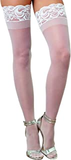 Women's Sheer Thigh-High Stockings