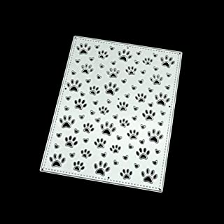 4.25 x 5.75 Inches Darice 30041360 Embossing Folder Cute Dogs /& Pawprints