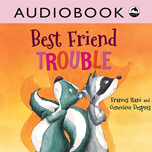 Best Friend Trouble audiobook cover art