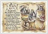 Die Staffelei Geschenk Juristen Jurist Richter Präsent Zeichnung Color 30 x 21 cm -