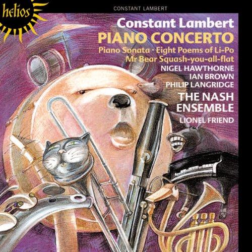 Piano Concerto/Eight Poem of Li-Po/Sonata For Pian