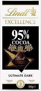 LINDT & SPRUNGLI Excellence Dark Cocoa 95%, 80 g