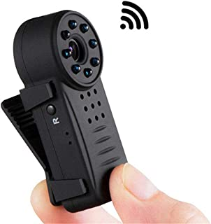 كاميرا ALILJJ اللاسلكية لأمن المنزل مصغرة IP كاميرا، مصغرة مصغرة مصغرة بالتحكم عن بعد لاسلكية رؤية ليلية عالية الدقة شبكة ...