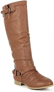 65d7a108b5f Amazon.com  Top Moda - Knee-High   Boots  Clothing