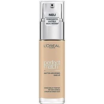 L'Oréal Paris Perfect Match Make-up 1.5.N Linen, flüssiges Make-up, für einen natürlichen Teint, mit Hyaluron und Aloe Vera