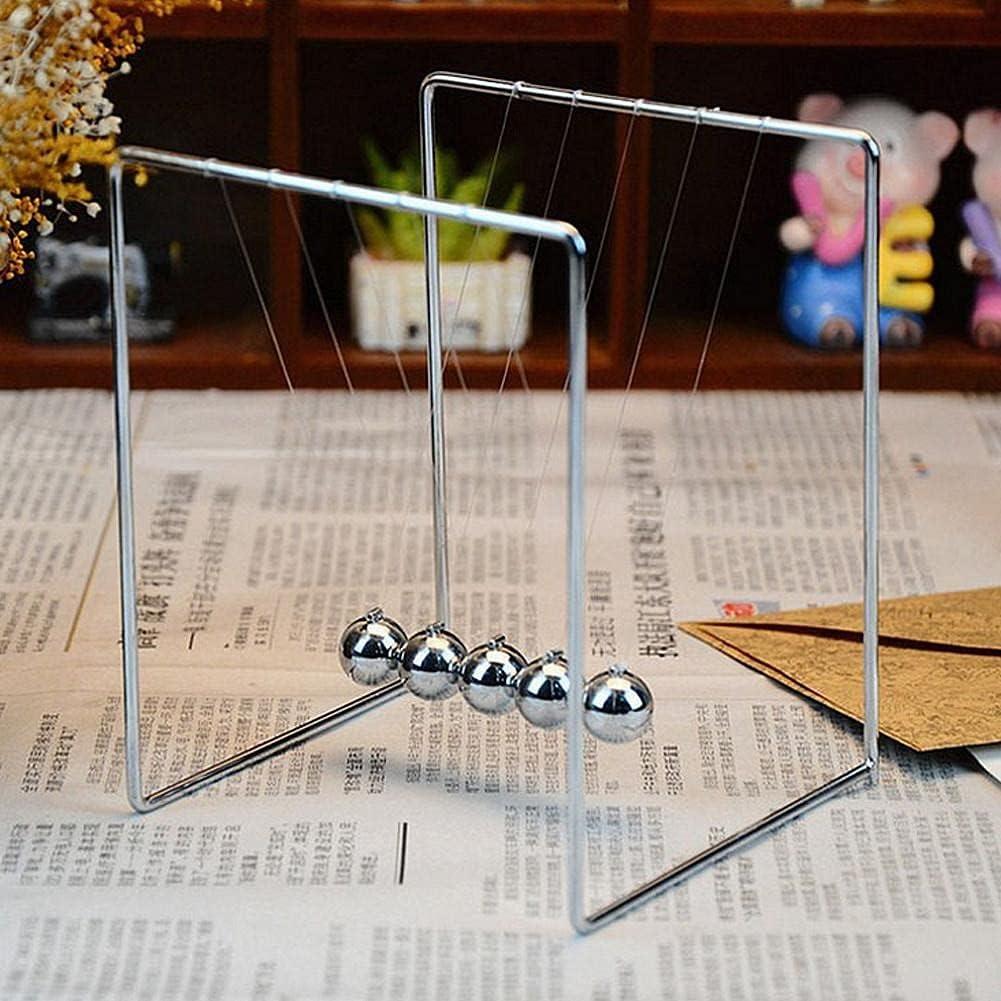 YFQHDD Physics 25% OFF Science Pendulum Balls Ball Meta Challenge the lowest price of Japan ☆ Metal Decoration