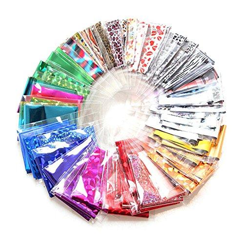 bodhi200020Folien DIY Nail Art Aufkleber Aufkleber Wasser Transfer Aufkleber Tipps Decor