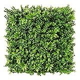 WAA 50X50CM Simulazione Pianta Muro Balcone Plastica Pianta Verde Muro Prato Fiore Appeso A Parete Decorazione Porta Testa Balcone Coperto Tappeto Erboso
